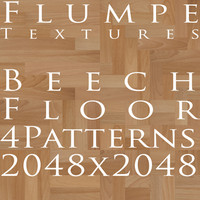 Floor - Beech - 4 Patterns