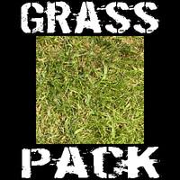 10 Grass Textures Pack