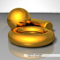 Metal - Gold shader