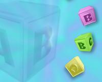 Baby Blocks Blue