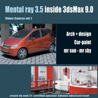 Video Workshop Mental ray 3.5 vol.1 English