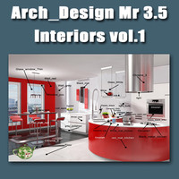 Arch e Design collection vol 1mental ray 3.5