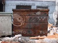 Rusty Dumpster