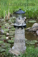 Water Garden Light House