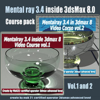 Video Workshop Mental ray 3.4 vol.1and 2 Pack eng