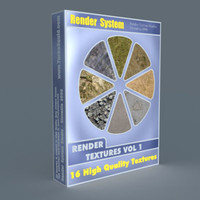 RENDER SYSTEM - Render Textures Vol 01.rar