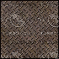 Rust Steel Diamond Plate