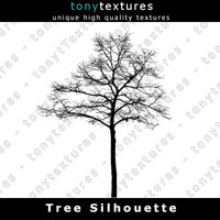 Tree Silhouette 005 - High Res