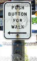 Walk Sign Texture