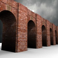 Tileable Brick Arches Texture