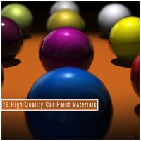 16 Car Paint Meterials