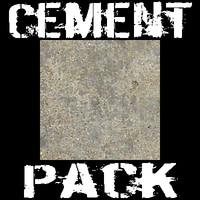 10 Concrete Textures Pack