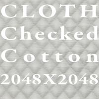 Cloth - checked cotton
