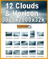 12 Clouds & Horizons Hi-res Texture Pack