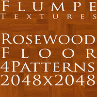 Floor - Rosewood - 4 Patterns