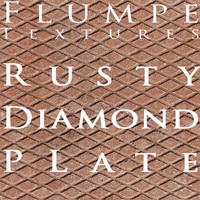 Metal - rusty diamondplate