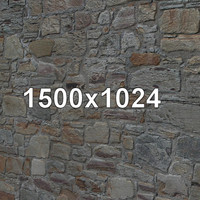 Stone wall 008