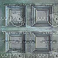 4 bronze panels texture