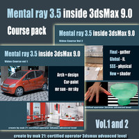 Video Workshop Mental ray 3.5 vol.1and 2 Pack eng