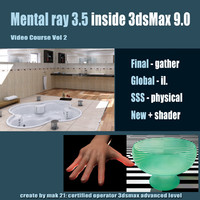 Video Workshop Mental ray 3.5 vol.2 English