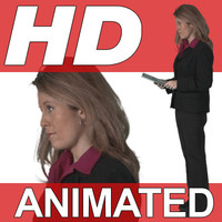High Definition Animated People Textures - HD Shannon Business