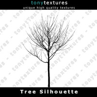 Tree Silhouette 010 - High Res