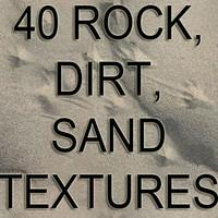 rock sand dirt textures.rar