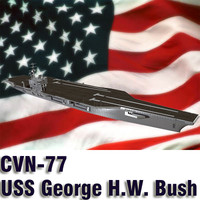 US Navy CVN 77 USS George H.W. Bush