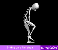emo0005-Tall chair