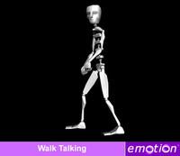 emo0005-Walk_Pull luggage
