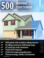 500 Siding Textures - Seamless