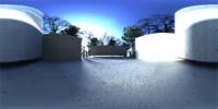 Courtyard HDRI