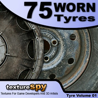 Wheel, 75 Worn Tyres And Wheels Volume 1