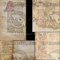 Medieval Book Pages