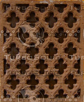 Brown plaster ornament texture