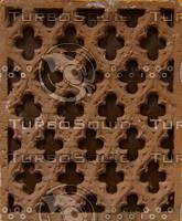 Brown plaster ornament texture