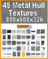 45 Futuristic Sci-fi Hull Texture Packs