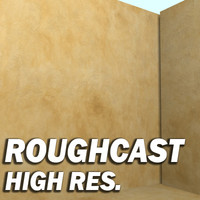 RoughCast Wall Texture Type I ---------- High Resolution