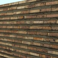 Brick Wall with Large Mortar Joint  -------- High Resolution