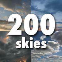 200 skies