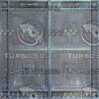4 lions bronze plaque texture