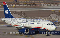 US AIRWAYS A319 N819AW PHX