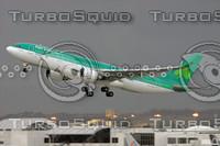 AIR LINGUS AIRBUS A330-200 EI-DAA LAX