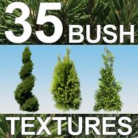 35 Bush Textures - Vol. 3