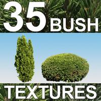 35 Bush Textures - Vol. 4