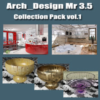 Arch e Design Mental ray 3.5 Pack V1