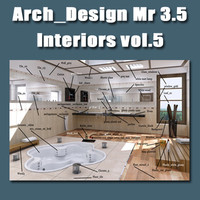 Arch e Design collection vol.5 mental ray 3.5