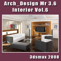 Arch e Design collection vol.6 mental ray 3.6