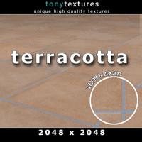 Terracotta Tile Texture