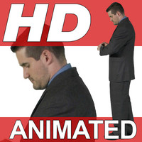 High Definition Animated People Textures - HD Chris Business